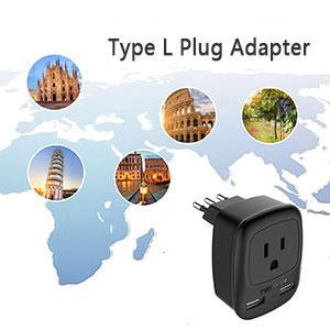 italy plug adapter