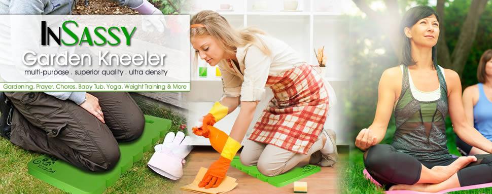 Amazon Com Insassy Garden Kneeler Pad Kneeling Mat For