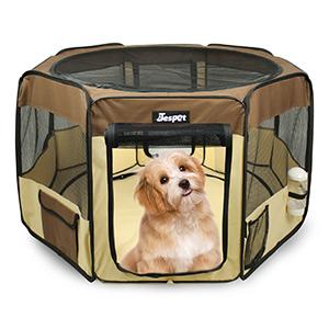 Dog playpen for travel