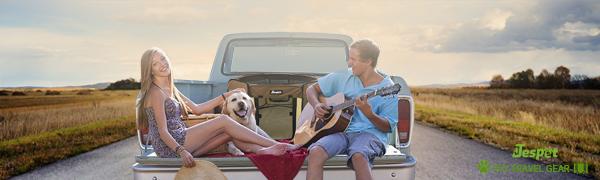 Jespet soft dog playpen for travel