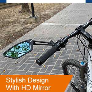 Rear view mirror that can be easily mounted.