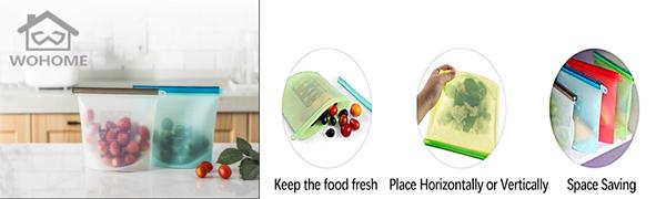 siliocne food bags