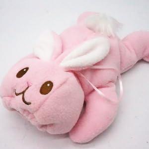 Rabbit Lovely Animal Infant Baby Bottle Cover Feeder Bottle Keep Warm Holder