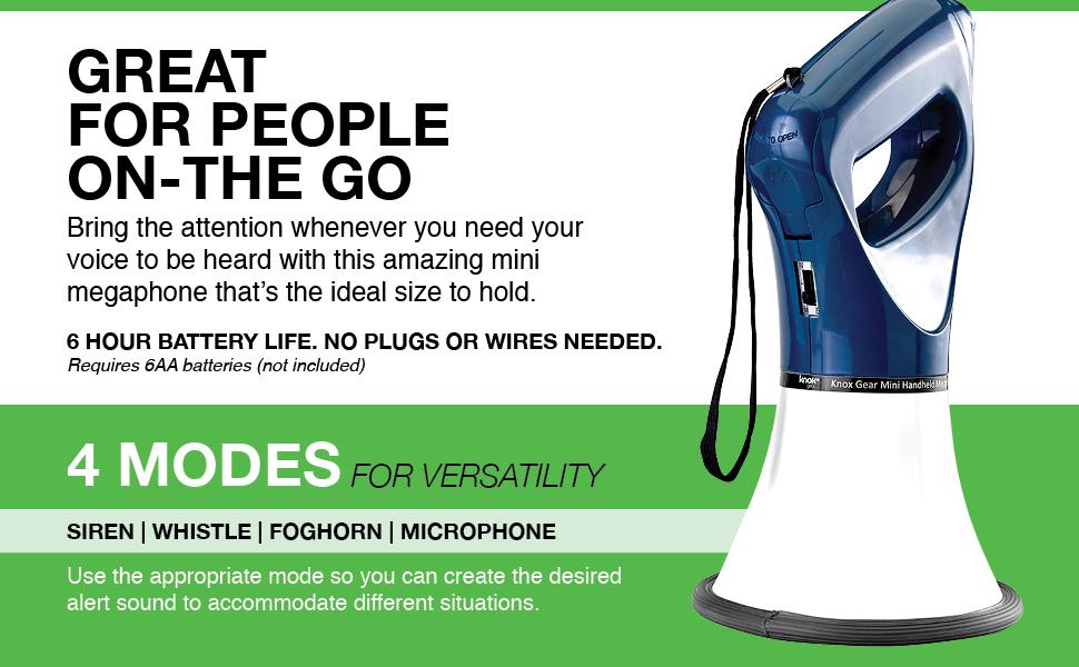 Mini Handheld Megaphone