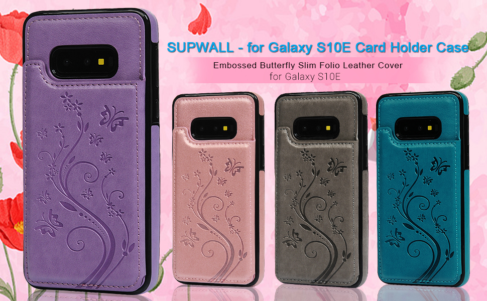 Samsung Galaxy S10E Card Holder Case