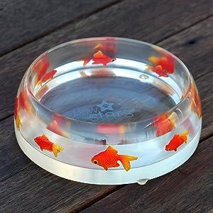 Cute Paw Stars Dog Bowl, Cat water bowl