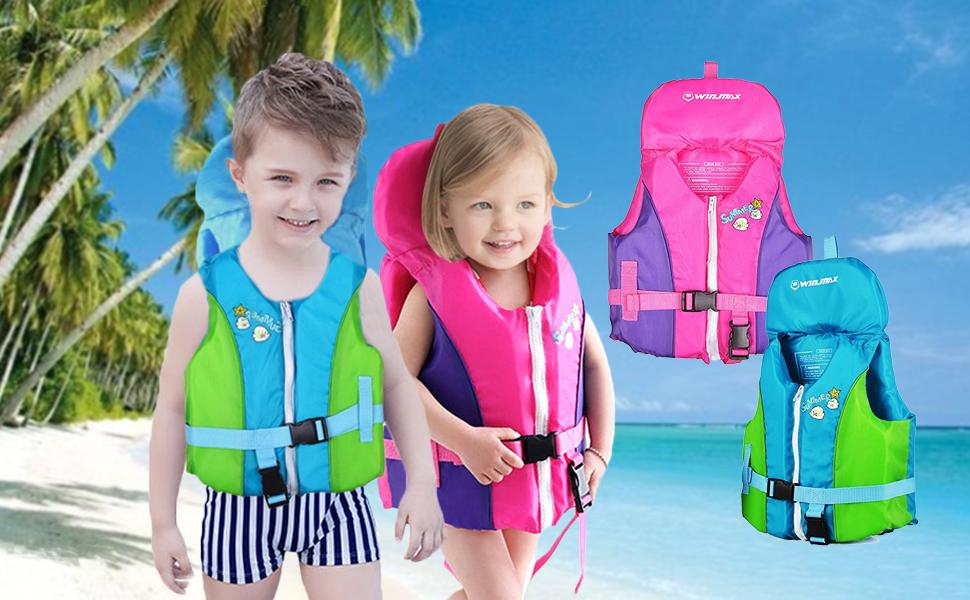 Amazon.com: OldPAPA Chaleco de entrenamiento de natación con ...