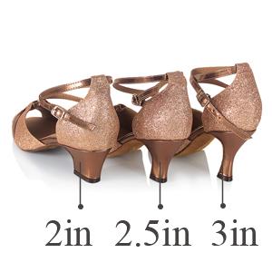 f8fd348c8969 Amazon.com | KAI-ROAD Ballroom Dance Shoes Women Low Heel Wedding ...