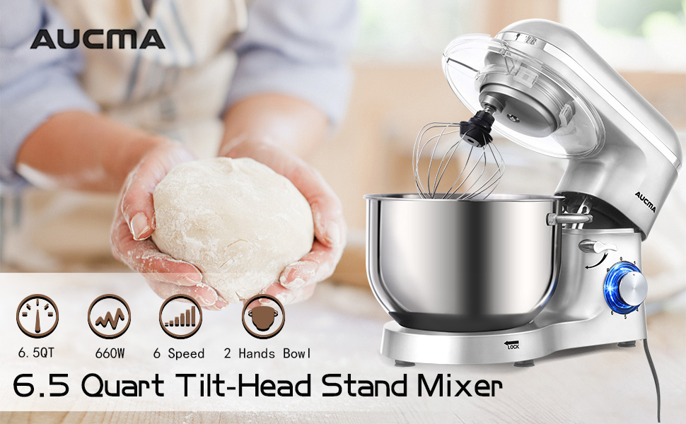 Silver Stand Mixers