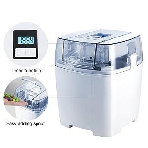 Digital time ice cream machines