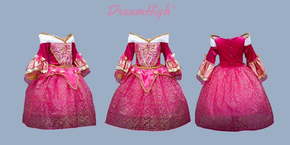 Amazon.com: DreamHigh - Disfraz de princesa Aurora para ...