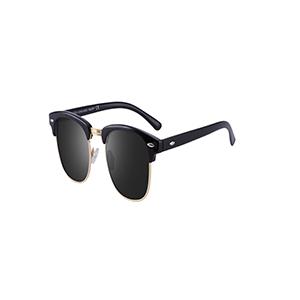 c3d653c9834 Amazon.com  Tacloft Polarized Sunglasses Semi Rimless Frame Brand ...