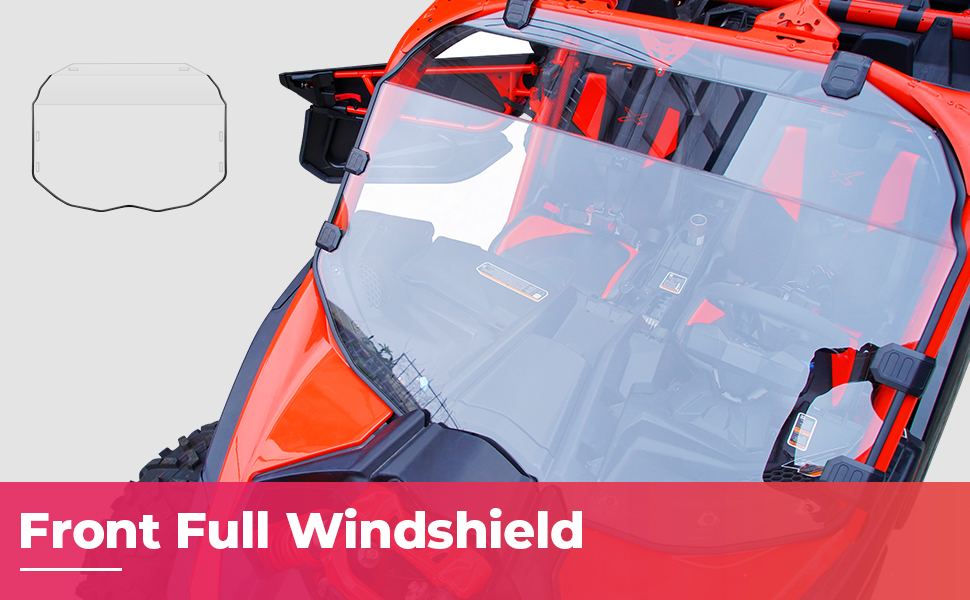 x3 windshield