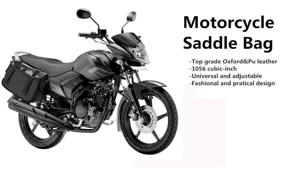Amazon.com: KEMiMOTO Motorcycle Saddle Bags Bicycle Bike ...