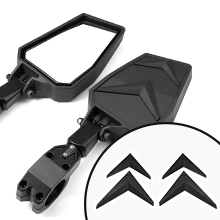 black side view mirror for rzr