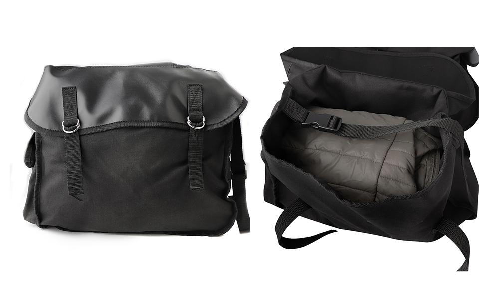 Amazon.com: kemimoto Sillín bolsas para bicicleta alforjas ...
