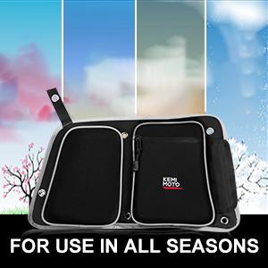 RZR Rear Door Bags