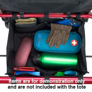 PracMedic Bags Underseat Rollator Bag is spacious