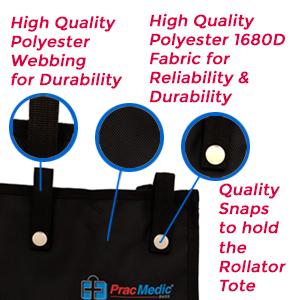 PracMedic Bags Underseat Rollator Bag