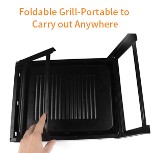 Foldable & Portable Barbecue Grill