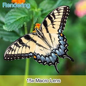 【15x Macro Lens】
