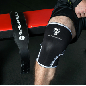 combination knee sleeve sleeves weight belt lifting powerlifting bodybuilding waist fit strong