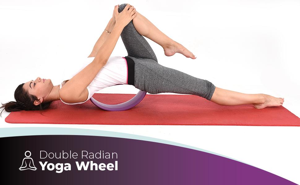 Amazon.com: Yoga Entrenamiento Ejercicio Rueda Ab - Doble ...