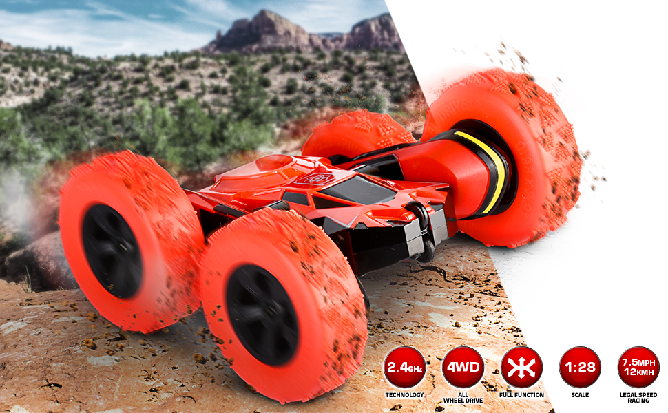 Radio controlled rc race car
