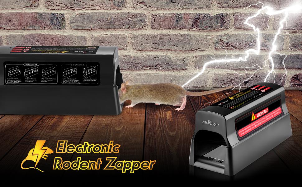 Amazon.com: Eliminador electrónico humanitario de roedores ...