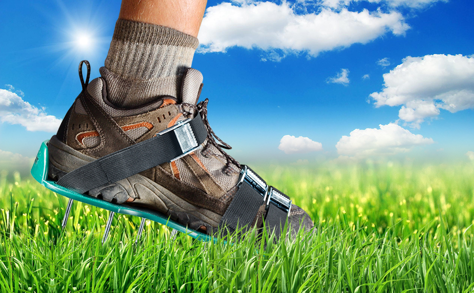 lawn aerator lawn shoes plug aerator airators for lawns