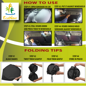 folding and how to use the sunshade