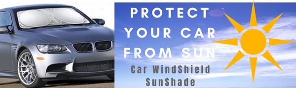Car windshield sunshade