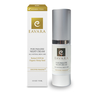 Eavara Natural & Organic Skin Care - Paradise Night Cream