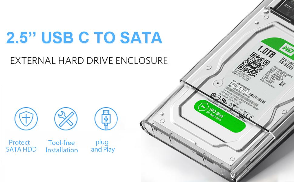 Amazon.com: QGeeM Caja de disco duro: Computers & Accessories