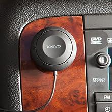 Kinivo universal bluetooth car kit hands free talk auxiliary bluetooth music receiver avantree argos