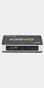 Kinivo 501BN 5-Port High Speed 4K 30Hz HDMI Switch With IR Wireless Remote