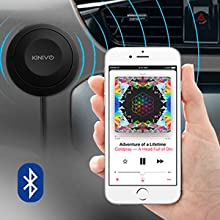 Kinivo easy to pair pairing handsfree bluetooth car kit hands free bluetooth for cell phone car kit