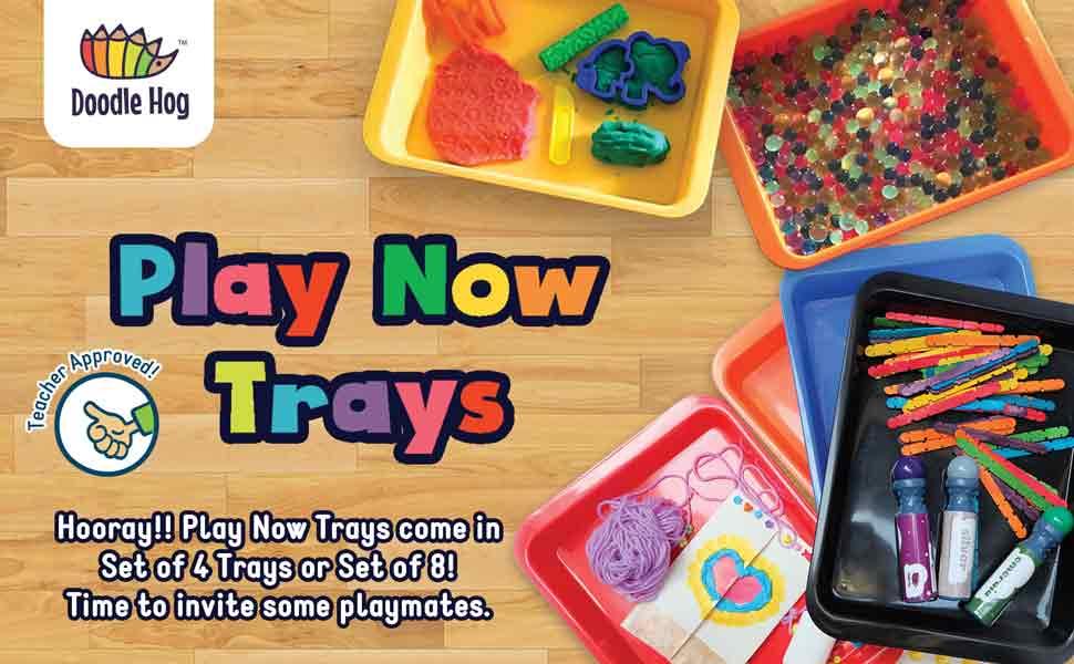 art supply for kids, kids art supplies, craft bins, montessori trays, lap tray for kids, activity
