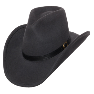 6b725605cc2 Dakota Outback Shapeable Western Pinch Wool Felt Cowboy Hat
