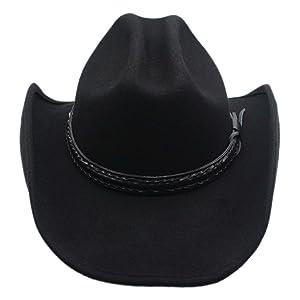 Men s Wool Cowboy Hat Cattleman Shapeable Western Felt Hats by Silver Canyon b684924fc7da