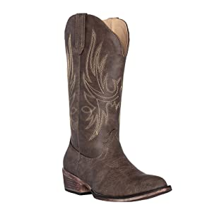 ed1d1c6aa46 Womens Western Cowgirl Cowboy Boot, Dallas Pointed Toe by Silver Canyon