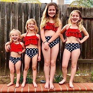 baby bathing suit girl