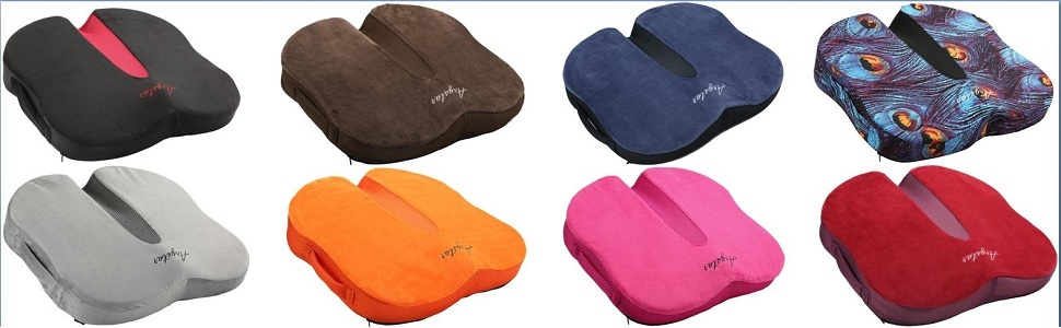 Various Colors Memory Foam Seat Cushion