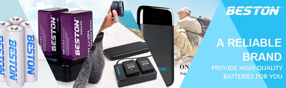 Amazon.com: BESTON - Cargador USB rápido doble para cámara ...