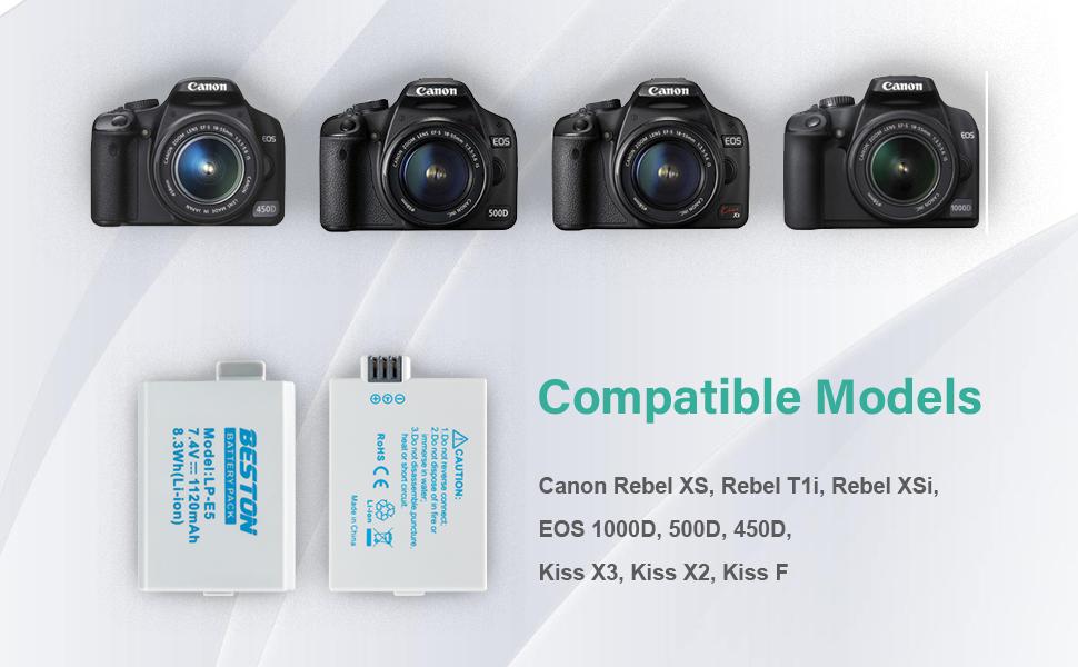 Amazon.com: LPE5 LPE6 LPE8 LPE10 LPE17 - Batería para cámara ...