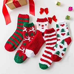 Christmas socks women
