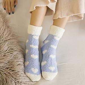 warm cozy slipper socks