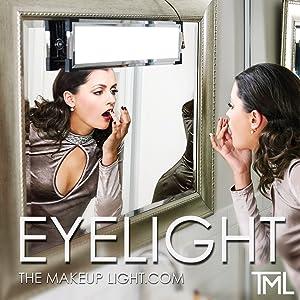 eyelight, tml, themakeuplight, the makeup light, vanity