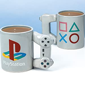 Paladone, Playstation, mug, coffee, cup, gift, gamer