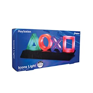 Playstation, light, night light, decor, man, woman, teen, collector, game